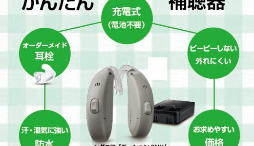 【Sale】シグニア かんたん補聴器セット 電池不要・充電式・装着しやすい(シーメンス・シグニア補聴器 Motion 2NXのご紹介)