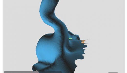 フル3Dで作ったイヤモールド「3Dイヤモールド」が良好だった ~耳型3Dスキャナを使った耳型採取~