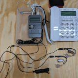 補聴器にビジネスフォンの音声を直接入力する方法を考えてみた
